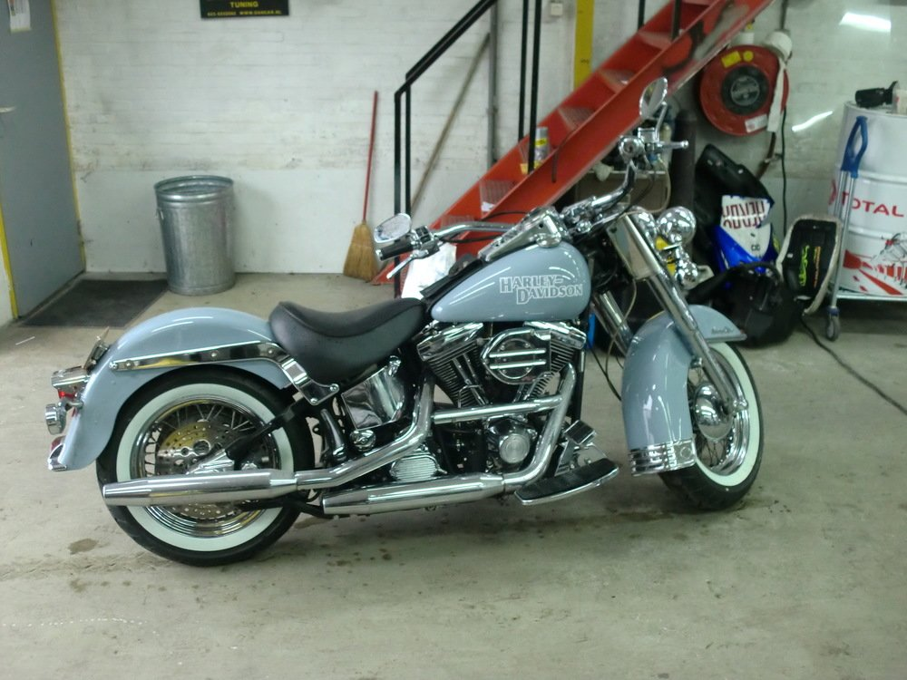 Harley Davidson spuiten