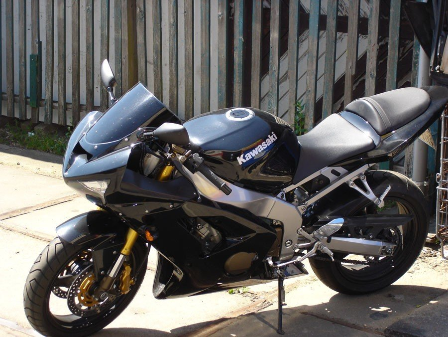 Kawasaki motor spuiten